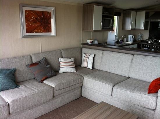 Seashore Holiday Park - Haven: platinum 3 bed caravan lovely