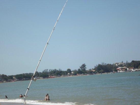 Bosque Beach: Praia do Bosque, foto tirada em Junho de 2013.