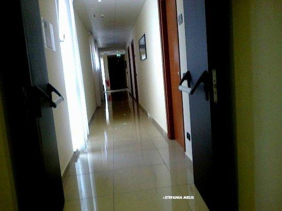 Hotel Tiempo: CORRIDOIO