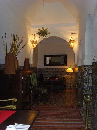 Riad Vert Marrakech: Dining area, Riad Vert