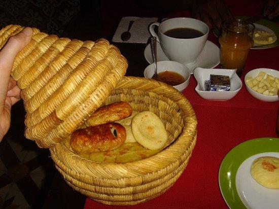 Riad Vert Marrakech: Breakfast at Riad Vert