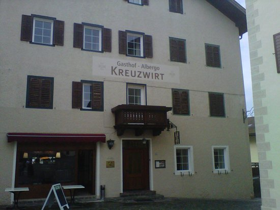 Gasthof Albergo Kreuzwirt: ingresso albergo