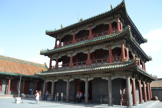 Shenyang Imperial Palace (Gu Gong): Inner section of palace