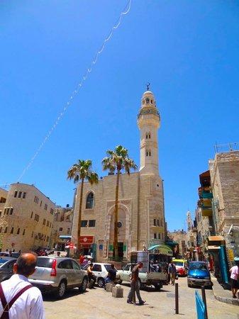 The Square : Looks at the Manger Square of Bethlehem