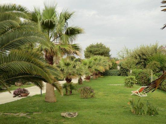 Trezene Villaggio: Botanic garden