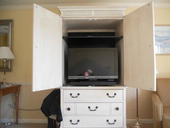 Anchor In Hotel: tv dans le meuble