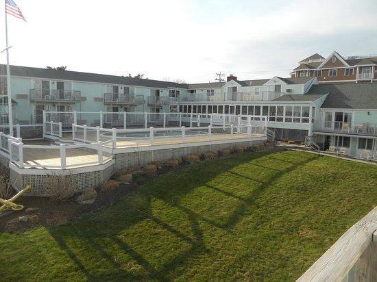 Anchor In Hotel: deouis la chambre vue sur la piscine