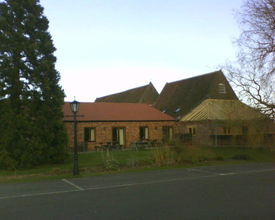 Elms Farm Cottages: As the Stables were being built
