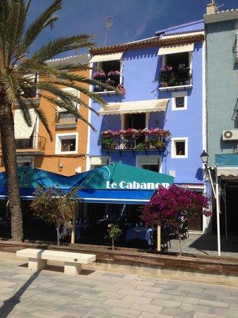 Le Cabanon : De typische gevel van Villajoyosa