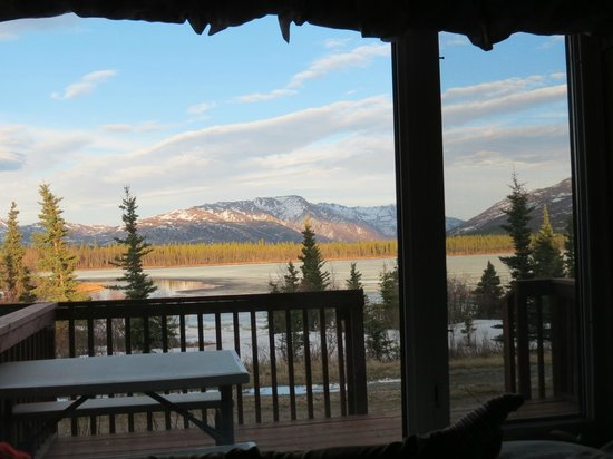 Denali Lakeview Inn: Autum Tundra