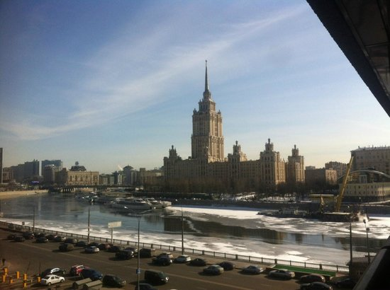 Crowne Plaza Moscow World Trade Centre: A room with a view (Day)