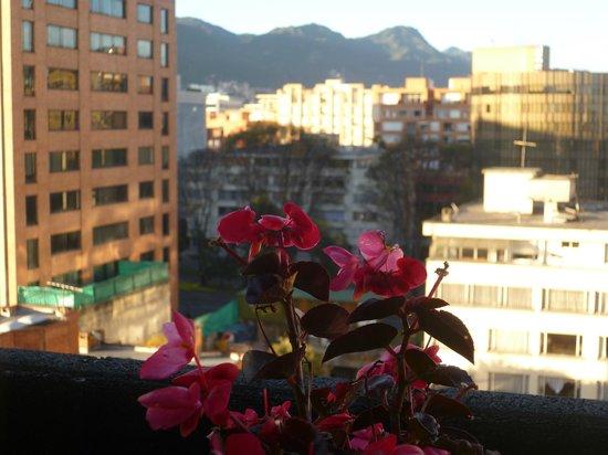 101 Park House: Vista desde mi balcón!