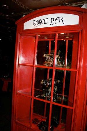 Hotel Geneve Ciudad de Mexico: Phone Bar