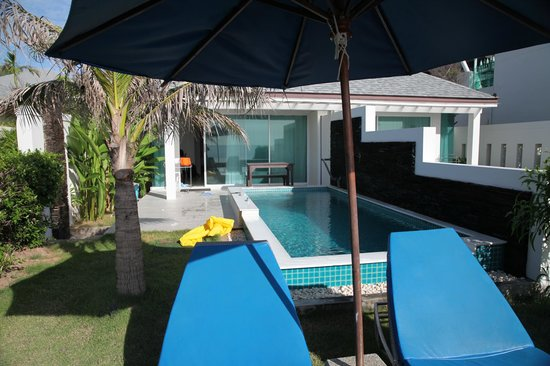 Samui Resotel Beach Resort: Room with a private pool