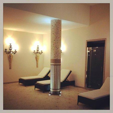 Terme Manzi Hotel & Spa: Area relax piscina termale