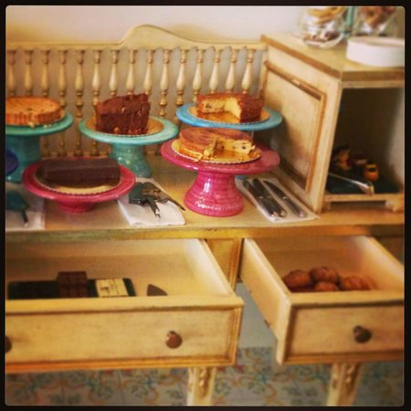 Terme Manzi Hotel & Spa: Angolo piccole delizie dolci - Prima colazione