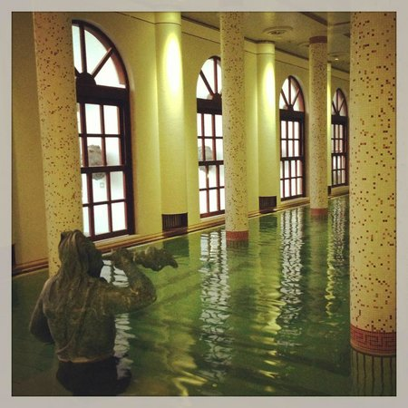 Terme Manzi Hotel & Spa: La piscina termale