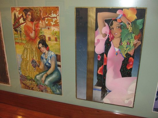 Museo de Artes y Costumbres Populares : Two lovely pieces of the printers art.