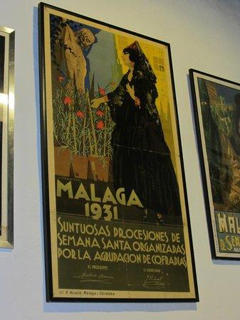 Museo de Artes y Costumbres Populares : 1931 poster for Semana Santa celebrations