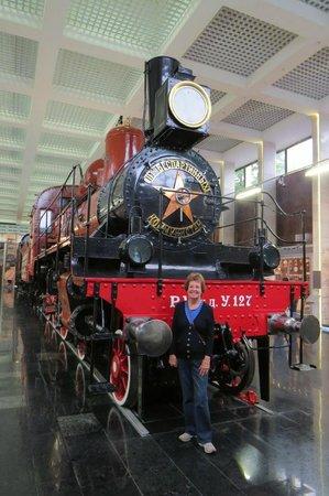 Lenin's Funeral Train: Locomotive