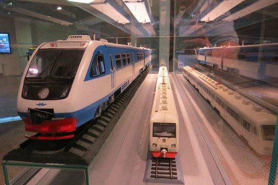 Lenin's Funeral Train: Modern exhibit