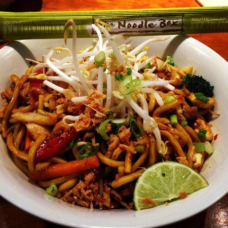 Noodlebox : Szechuan chicken