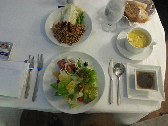 Novotel Bangkok IMPACT: My room-service's dinner