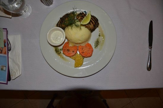 A Meal at the Time Out Hotel