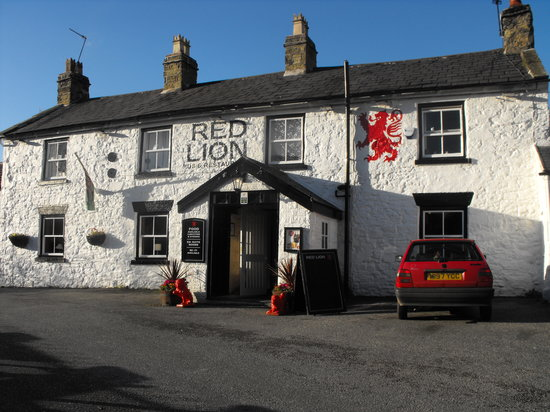 Llanasa, UK: red lion inn