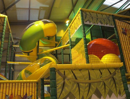 Jungle Madness Soft Play: Try the Spiral Slide if You Dare