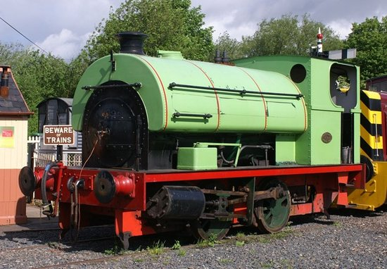 Telford Steam Railway: Ironbridge No 3