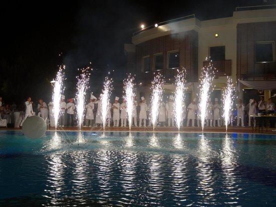 Club Med Bodrum Palmiye: piscine magique