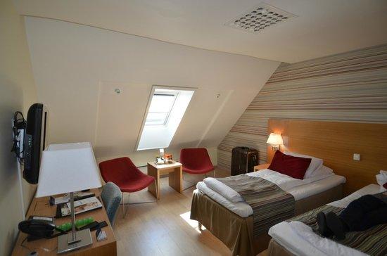 Scandic Byparken : Our Dorm!