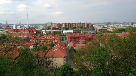 Skansen Kronan: View to the north