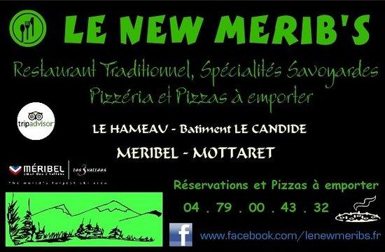 Le New Merib's : Carte de visite