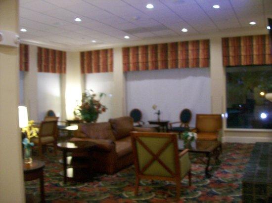 Hilton Garden Inn Florence: Hotel Lobby Sitting Area.