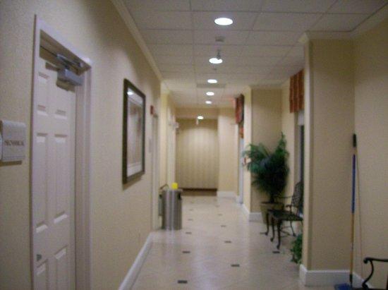 Hilton Garden Inn Florence: Hallway on ground floor to Pool area.