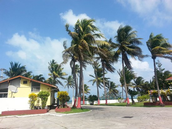 Hotel Boutique Alma de San Andres: VISTA DESDE LA HABITACION