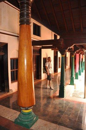 Chettiar Mansion: interior de una mansion