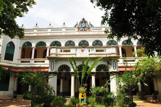 Chettiar Mansion: fachada de una mansión convertida hoy en hotel