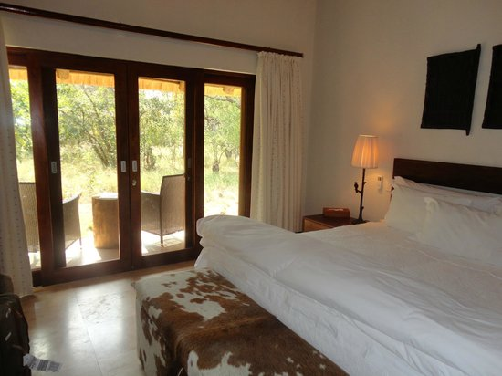 Kapama Southern Camp: View of my room