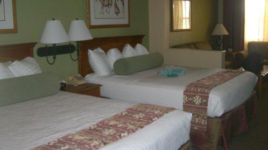 Best Western Plus King's Inn & Suites: Room (ignore kids blanket on bed)