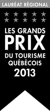 Auberge & Spa West Brome: Winner, Grands Prix du Tourisme 2013