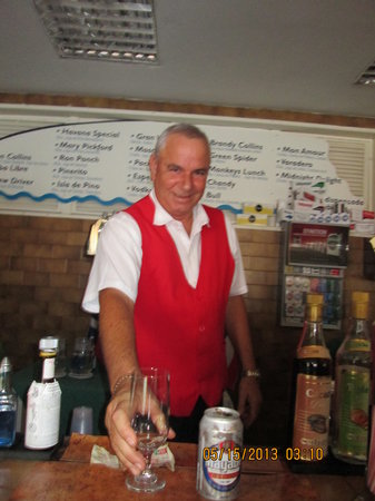 "Hotel Club Tropical: Best waiter at Tropical ""Pino"" although they are all pleasant and very nice."