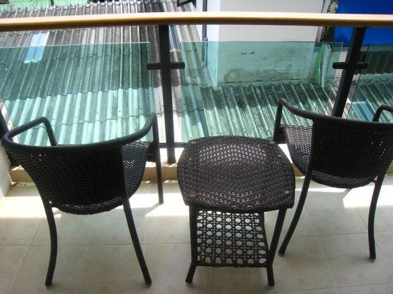Baramee Resortel: balcon chambre