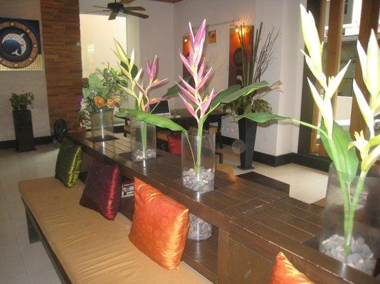 Baramee Resortel : l'accueil