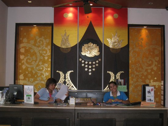 Baramee Resortel: l'accueil