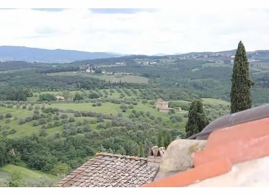 Castello del Nero Boutique Hotel & Spa: view from our room