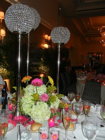 Sheraton Philadelphia Society Hill Hotel: Wedding Reception