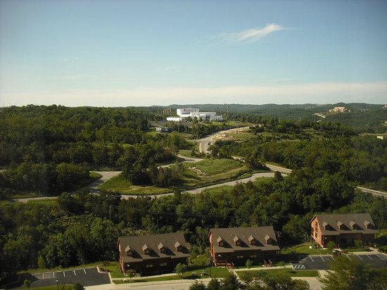 Grand Plaza Hotel Branson : the view